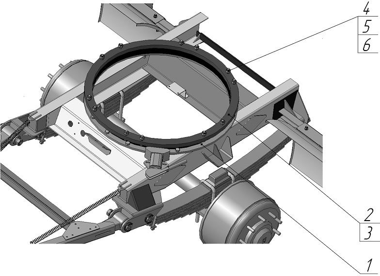 поворотный механизм тракторной телеги фото обрядам